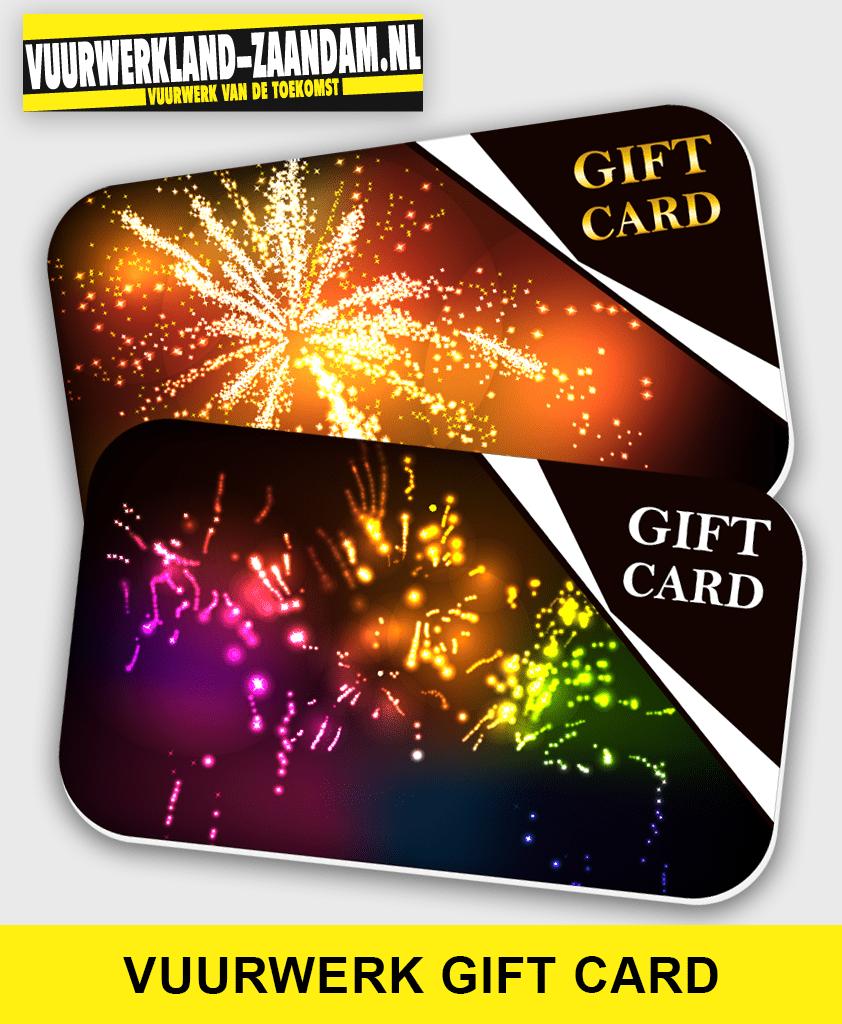 Vuurwerk Waardebon / Gift card €25,-
