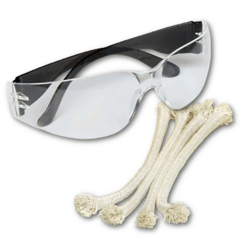 gratis bril en aansteeklont