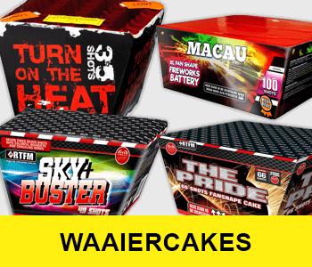 Waaiercakes